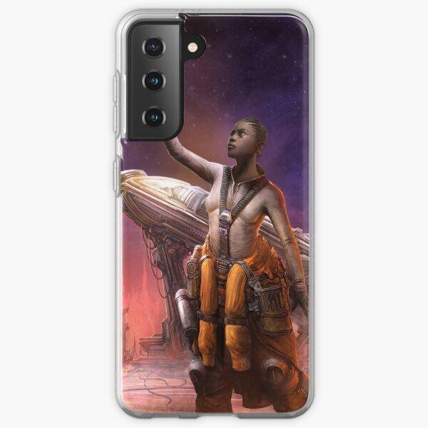 Steampunk Astronaut Samsung Galaxy Soft Case