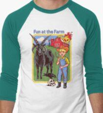 Fun at the Farm Men's Baseball ¾ T-Shirt