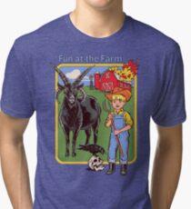 Fun at the Farm Tri-blend T-Shirt