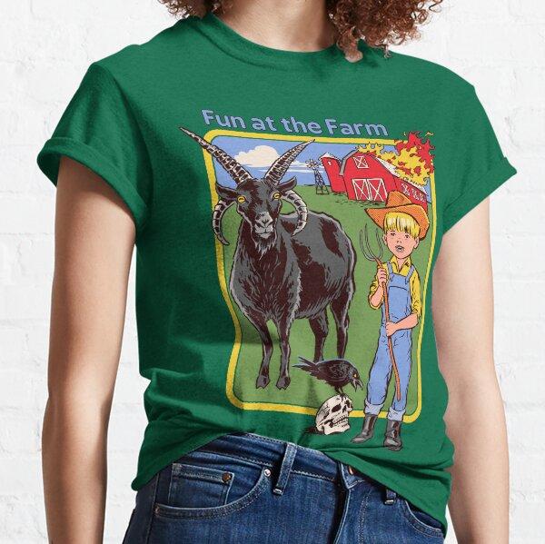 Fun à la ferme T-shirt classique