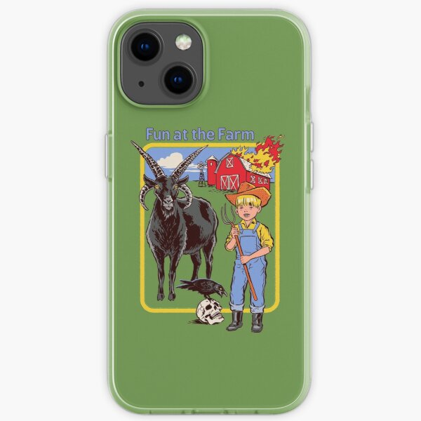 Spaß auf dem Bauernhof iPhone Flexible Hülle