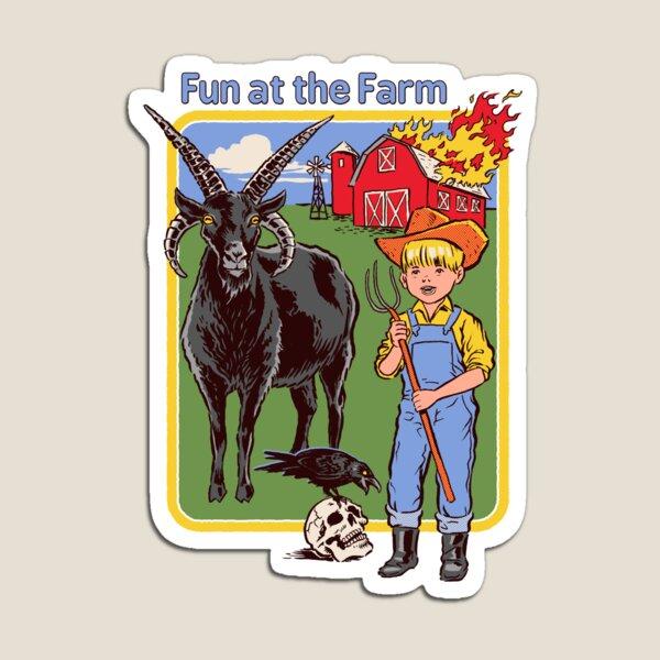 Fun at the Farm Magnet