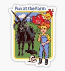 Fun at the Farm Sticker