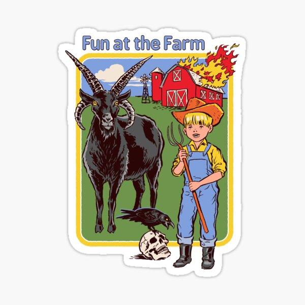 Spaß auf dem Bauernhof Sticker