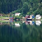 Calm weather in Ulvik - Norway by Arie Koene