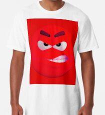 Red wütend !!! kantig Longshirt