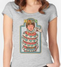 Hugsss Women's Fitted Scoop T-Shirt
