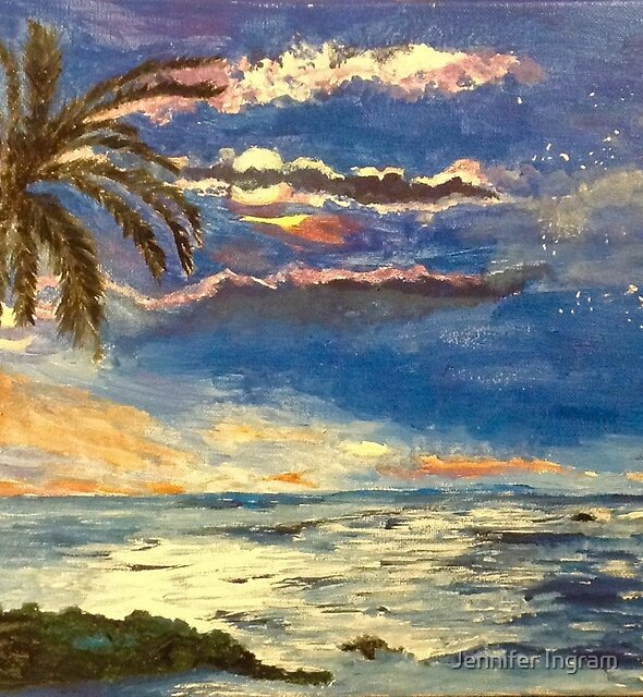 Tropical Moonlight by Jennifer Ingram