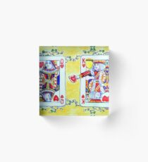 Who Stole the Tarts? Acrylic Block