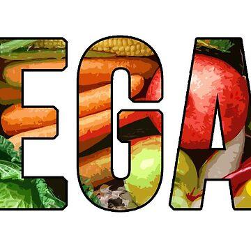 Vegan Vegetables - Vegan Activist Shirt, Mugs, etc. by MichesMerch