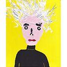 « Portrait inspiré d'Andy Warhol - Martin Boisvert - Faces à flaques » par Martin Boisvert