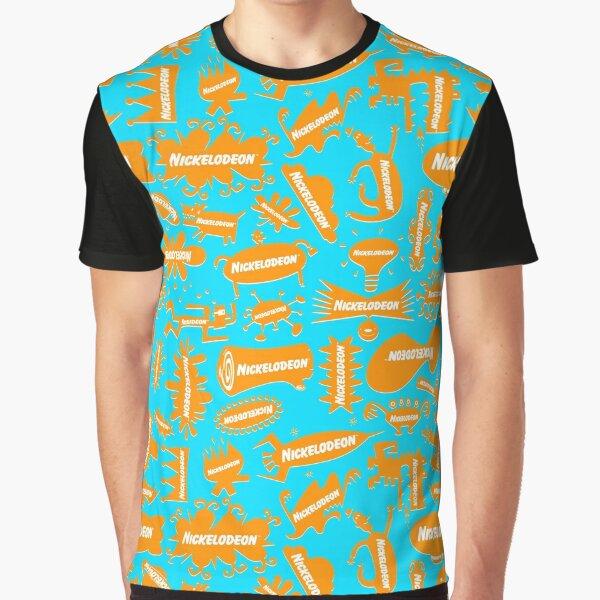 Big Orange Splat! Graphic T-Shirt