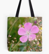 Oregon Cranesbill, William Finley NWR, Oregon  Tote Bag