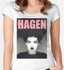 Nina Hagen Women's Fitted Scoop T-Shirt