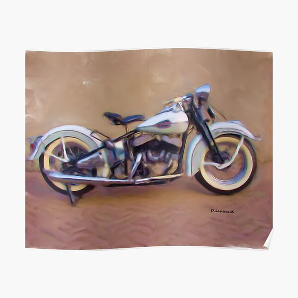 45' Harley Davidson Poster