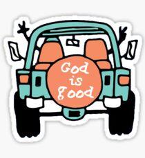Pegatina Dios es bueno