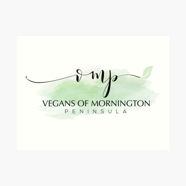 Vegans of Mornington Peninsula Art Print