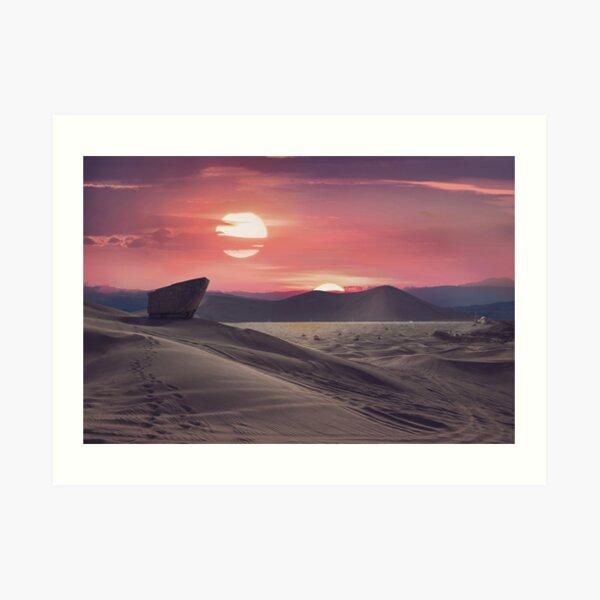 Wüstenplanet Kunstdruck