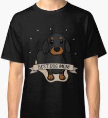 Best Dog Mom Ever Dachshund Dog Gift For Dachshund Mom Dachshund T-Shirt Sweater Hoodie Iphone Samsung Phone Case Coffee Mug Tablet Case Classic T-Shirt