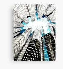 Big City Heat Canvas Print