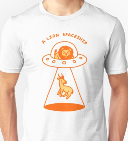 A Lion Spaceship T-Shirt