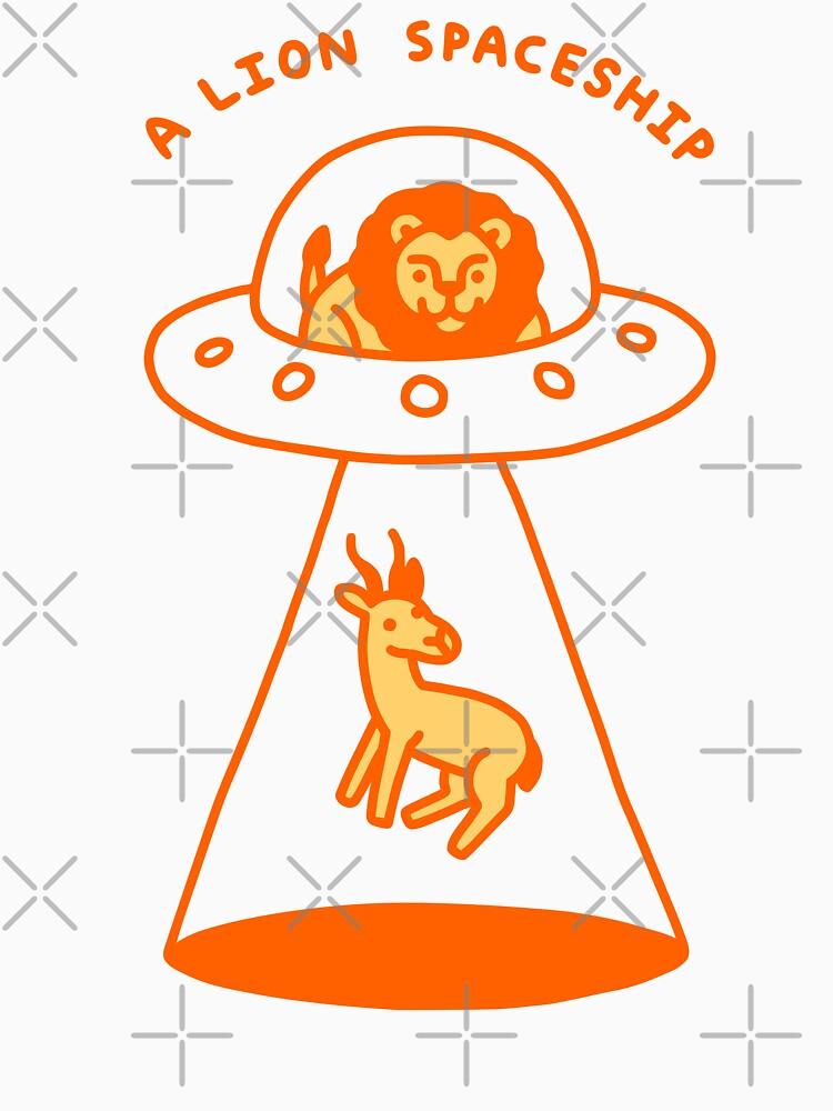 A Lion Spaceship by obinsun