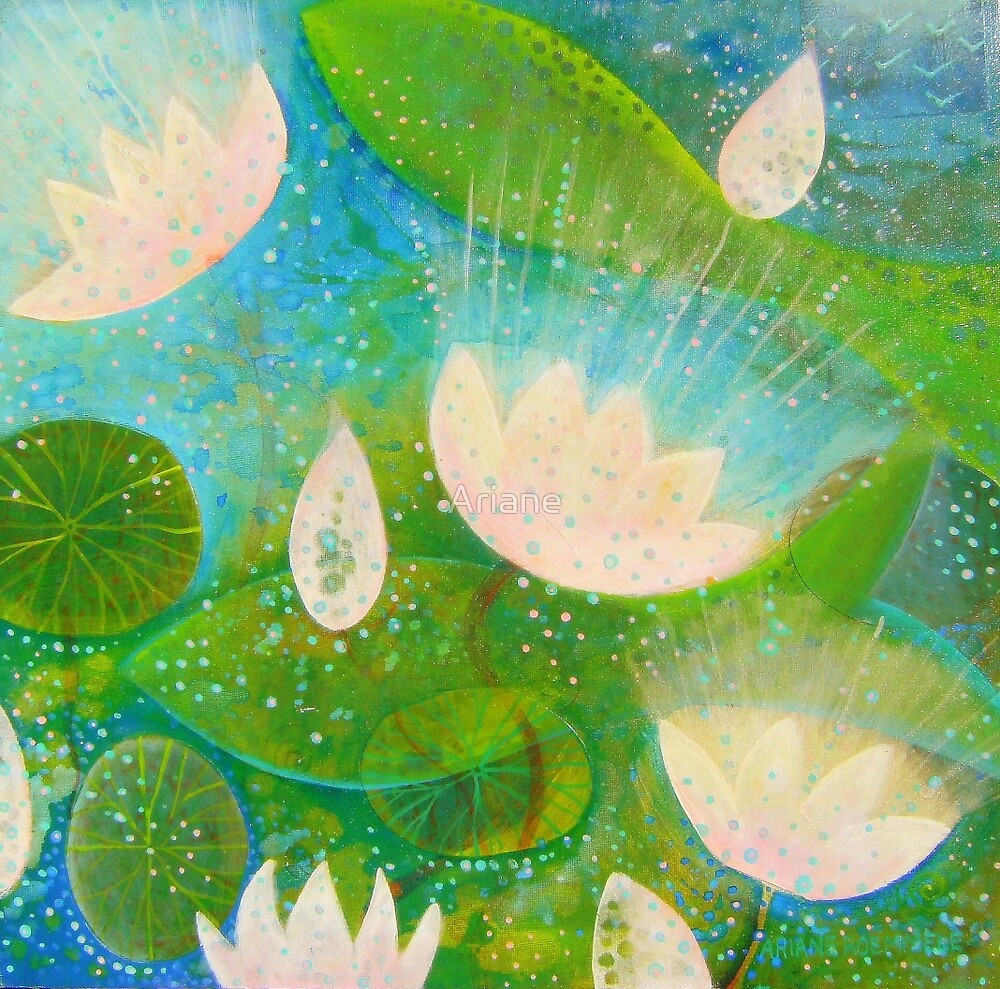 """"""" WATER LILY DREAMING """" by Ariane"""