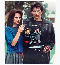 jd and veronica - heathers Poster