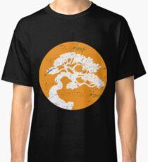 Camiseta clásica Árbol japonés de los bonsais Regalo anaranjado del zen de Sun para el árbol de los bonsais del árbol de los bonsais del árbol japonés de los bonsais Sudadera con capucha del teléfono de Samsung Caso del teléfono Caja de la tableta de la taza de café