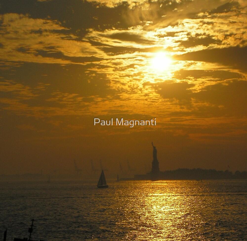Liberty at Sunset by Paul Magnanti