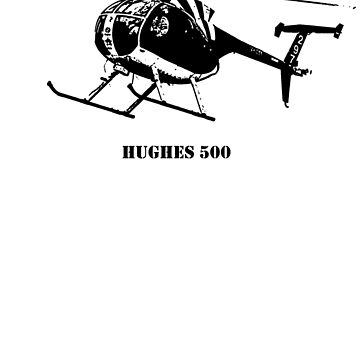 Hughes 500 in Black by PrecisionHeli