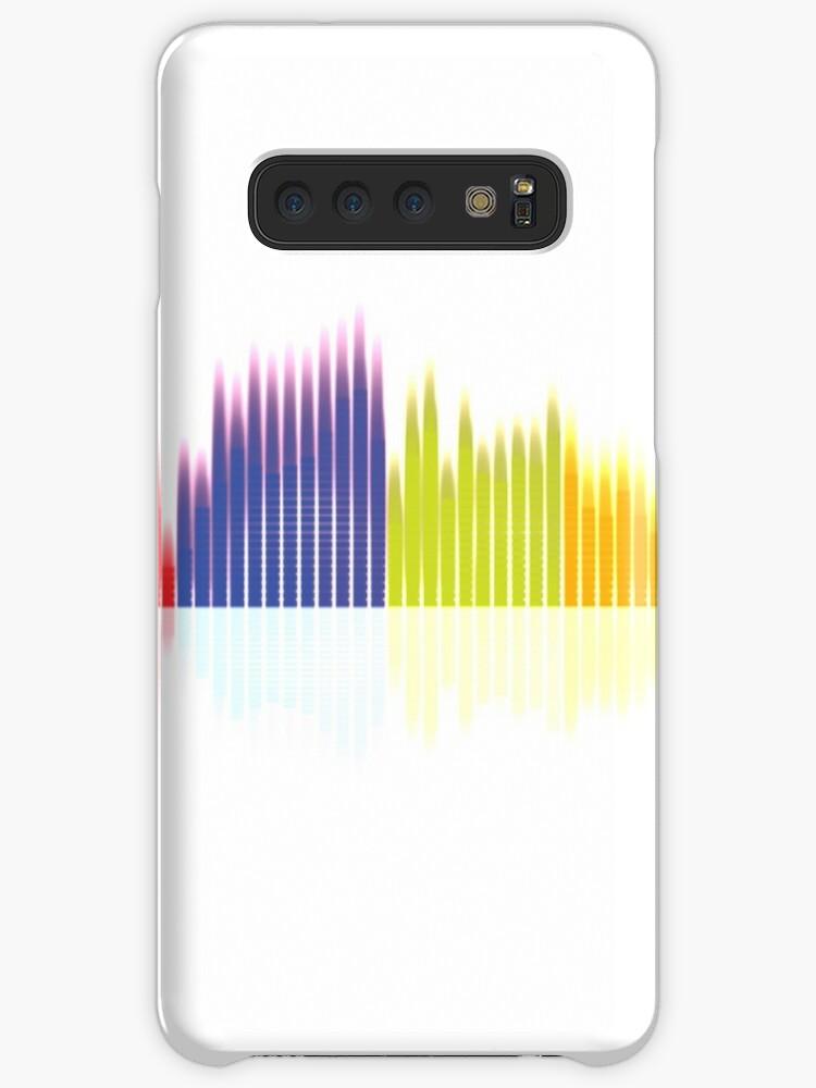 'Music equalizer' Case/Skin for Samsung Galaxy by andremostamari