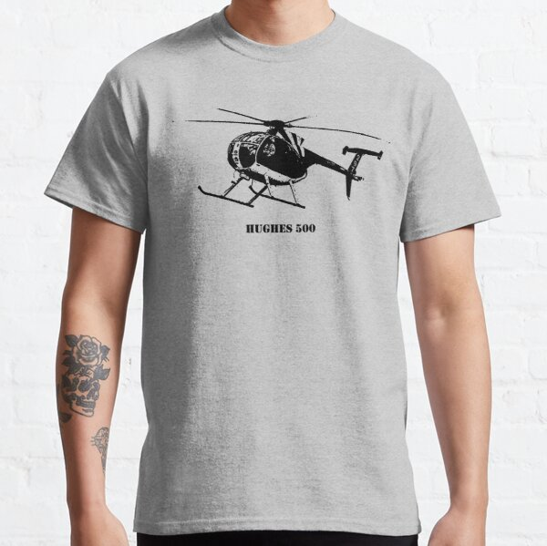 Hughes 500 in Black Classic T-Shirt