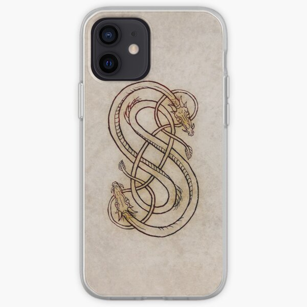 Snakes Of Loki iPhone Soft Case