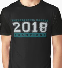Philadelphia Champions Football Fly Eagles Fly Graphic Tee Graphic T-Shirt