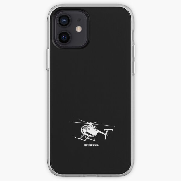 Hughes 500 in White iPhone Soft Case