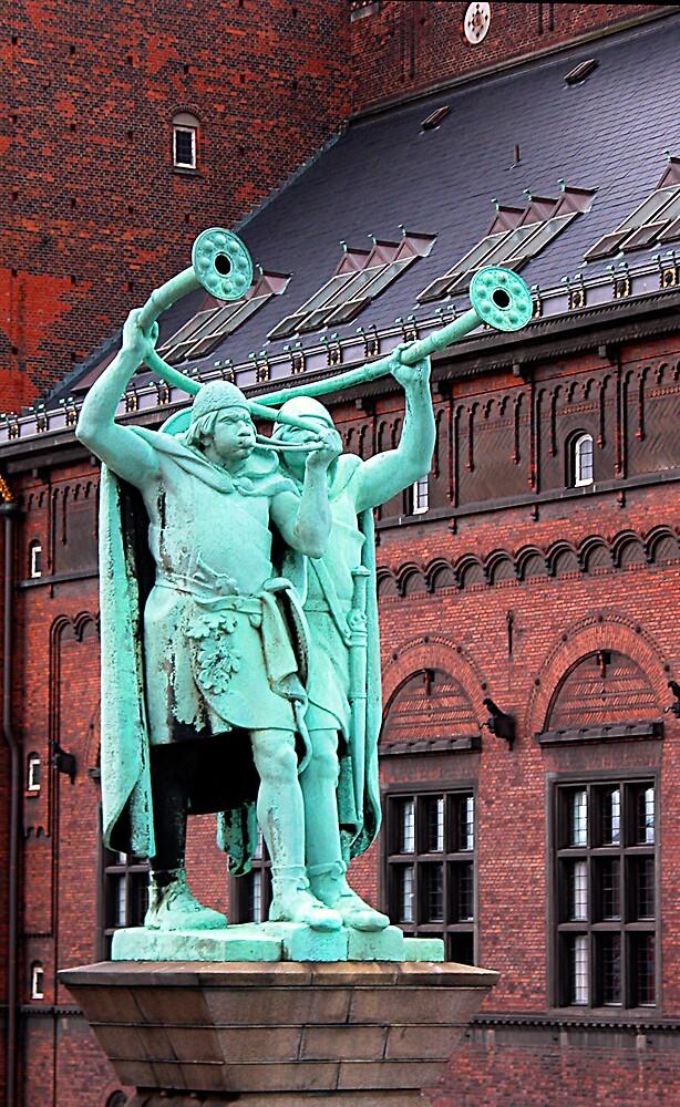 Viking Hornblowers, Copenhagen by Virginia Maguire
