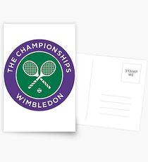 The championship Of Wimbledon Postcards
