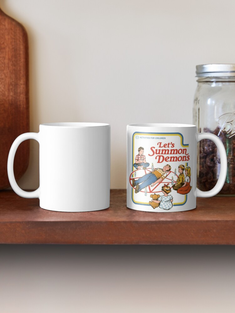 Alternate view of Let's Summon Demons Mug