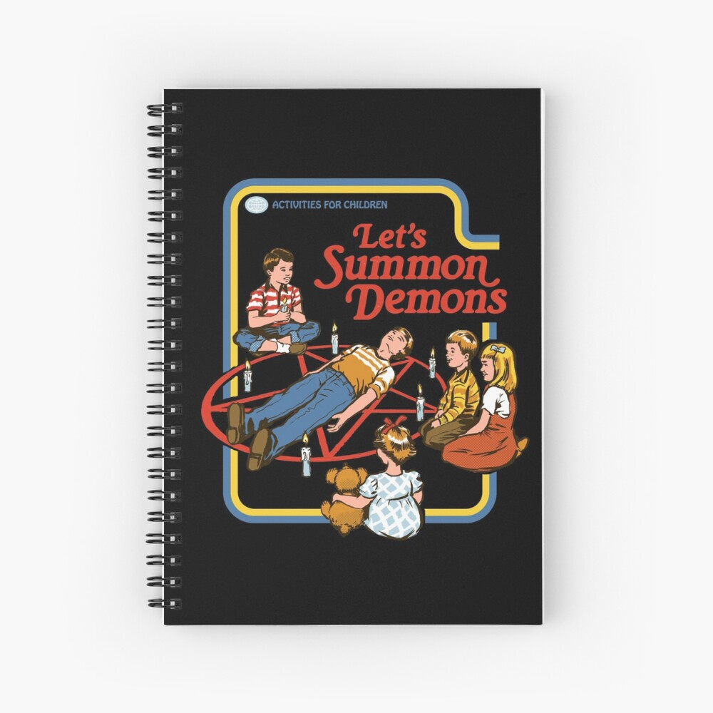 Let's Summon Demons Spiral Notebook