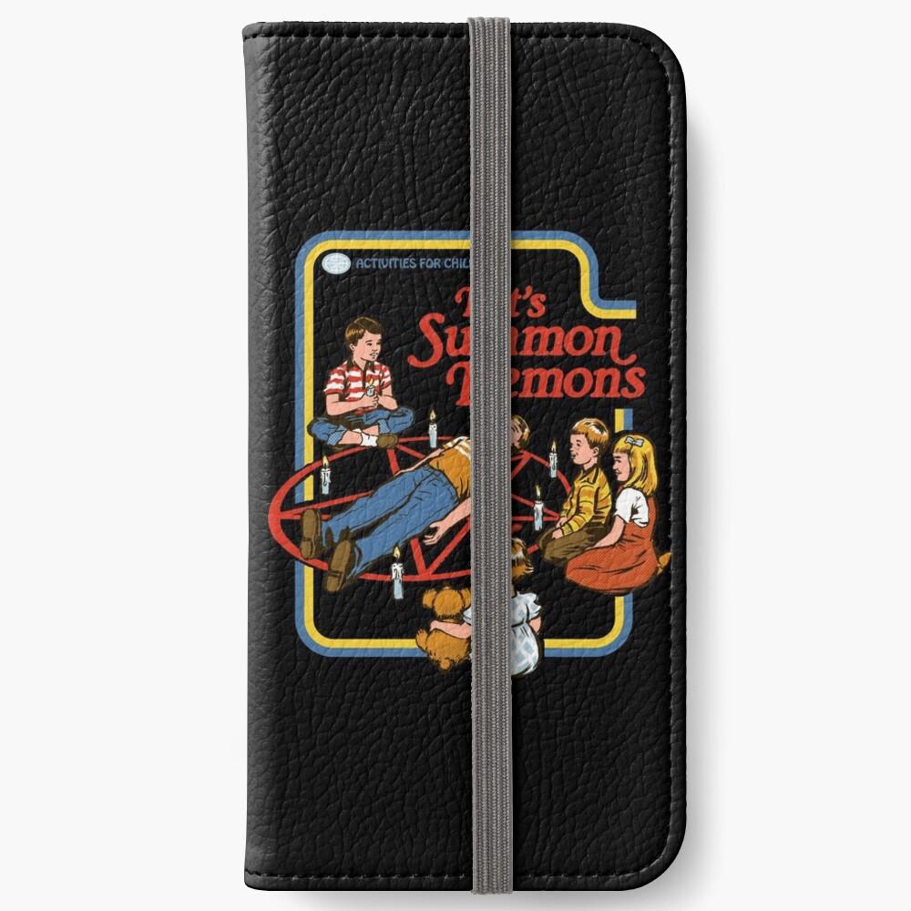 Let's Summon Demons iPhone Wallet