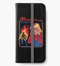 Pyrokinesis for Beginners iPhone Wallet/Case/Skin