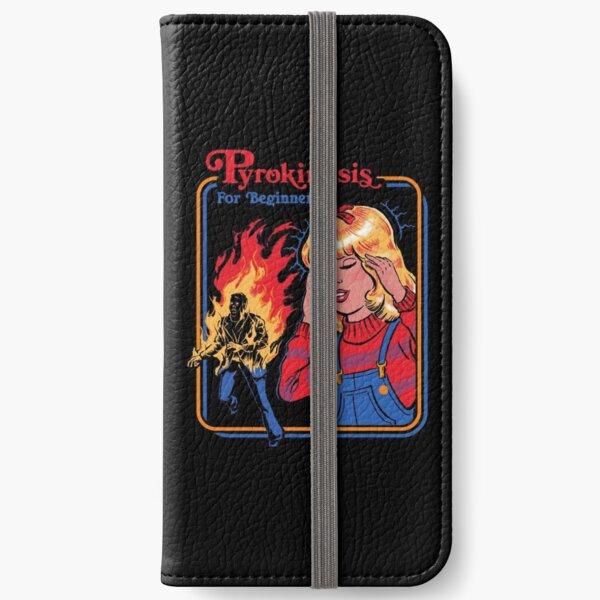 Pyrokinesis for Beginners iPhone Wallet