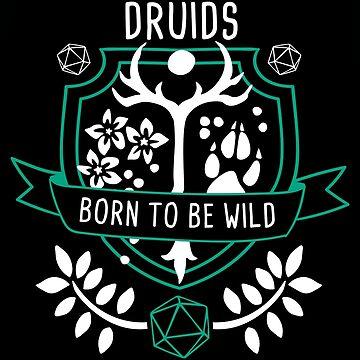 RPG Klasse Druiden von baselinegraphix