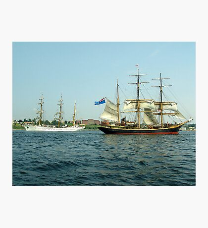 Ships That Pass... Photographic Print