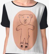 Teddy Bear - Ourson - Martin Boisvert Top mousseline