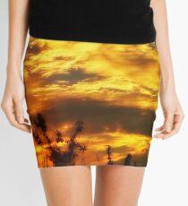 dramatic sky images Mini Skirt