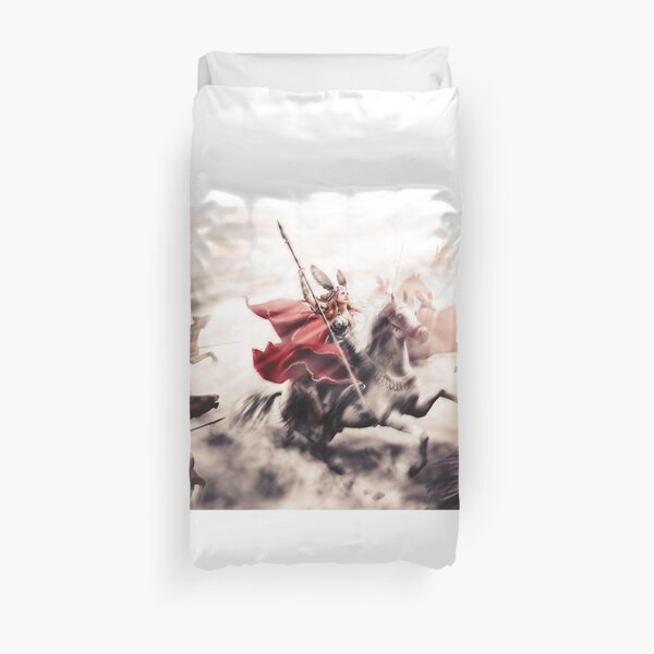 Ride of the Valkyries Duvet Cover