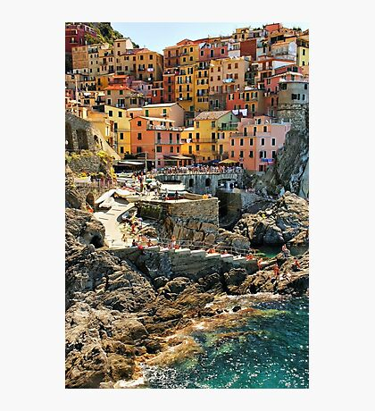 Manarola Photographic Print