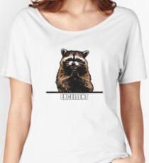 Evil Raccoon Women's Relaxed Fit T-Shirt